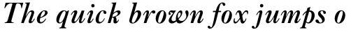 Caslon Bold Italic sample