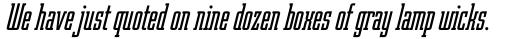 Robotik Italic sample