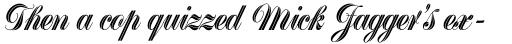 Greyton Script sample