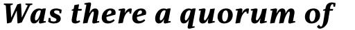 PF Adamant Pro ExtraBold Italic sample