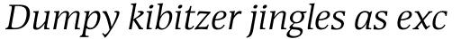Devin Italic sample