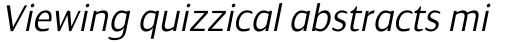 Dialog Light Italic sample