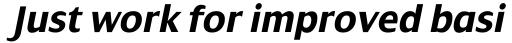 Dialog Bold Italic sample