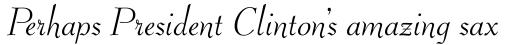 Rebekah Pro Italic sample