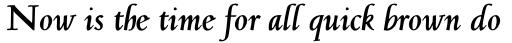 Jenson Classico Bold Italic sample