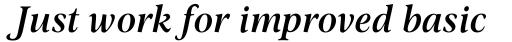 Omnibus SemiBold Italic sample