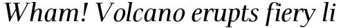 Pax Italic sample