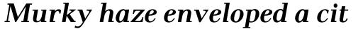 Pax #2 SemiBold Italic sample