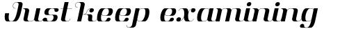 Aston Book Italic sample