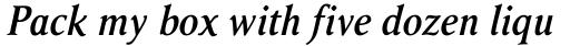 Ragnar SemiBold Italic sample