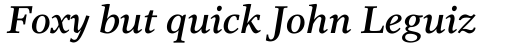 Res Publica SemiBold Italic sample