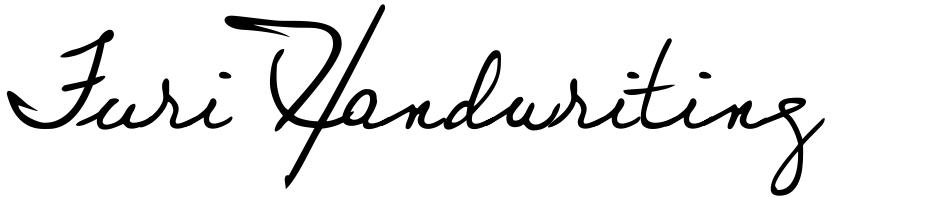 Click to view Juri Handwriting font, character set and sample text