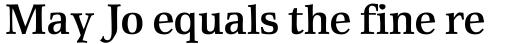 Rustika Bold sample