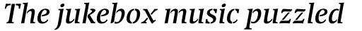 Transport Italic sample