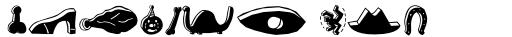 Blockhead Illustrations Black Face sample