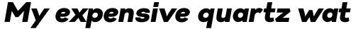 Gabriel Sans Black Italic sample
