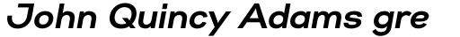 Gabriel Sans Bold Italic sample