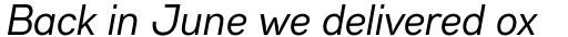 Gabriel Sans Condensed Normal Italic sample