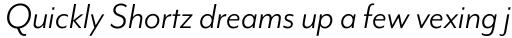 Mr Eaves Mod Book Italic sample
