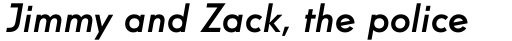 Windlesham Pro Medium Italic sample