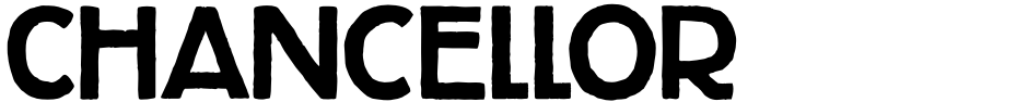 Click to view Chancellor font, character set and sample text