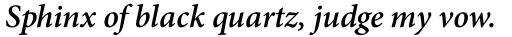 Adobe Thai Bold Italic sample