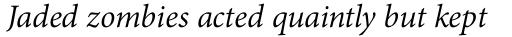 Adobe Thai Italic sample