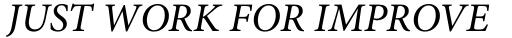 Adobe Hebrew Italic sample