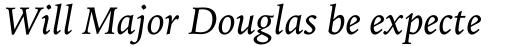 Iowan Old Style Pro Italic sample