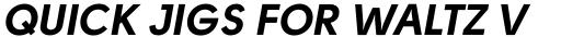 Solomon Sans Bold Italic sample
