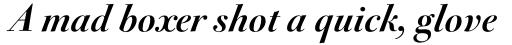 FF Acanthus OT Bold Italic sample