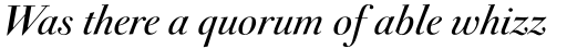 FF Acanthus OT Italic sample