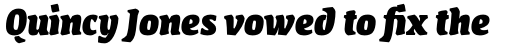 FF Amman Serif Pro Extra Bold Italic sample