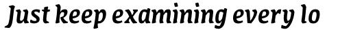 FF Amman Serif Pro Med Italic sample