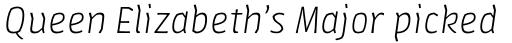 FF Amman Sans Pro Light Italic sample