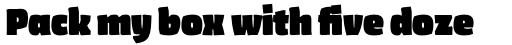 FF Amman Sans Pro Black sample