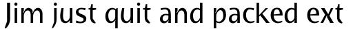 FF Bradlo Sans Pro sample