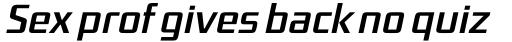 FF District OT Italic sample