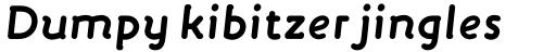 FF Engine Std Bold Italic sample