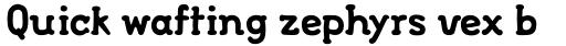 FF FontSoup Std Catalan Bold sample