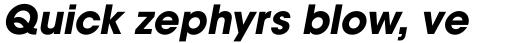 ITC Avant Garde Bold Oblique sample