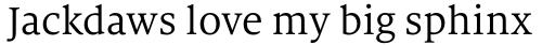 FF Milo Serif Pro sample
