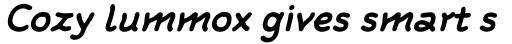 FF Rattlescript OT Bold Oblique sample