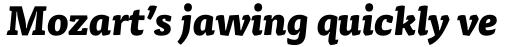 FF Tisa Pro ExtraBold Italic sample