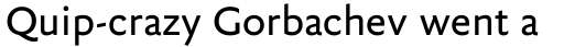 FF Yoga Sans Pro sample