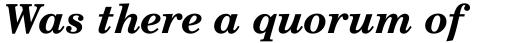 Century Schoolbook WGL4 Bold Italic sample