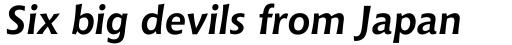 Chianti WGL4 Bold Italic sample