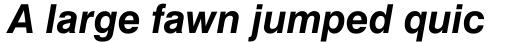 Swiss 721 WGL4 Bold Italic sample