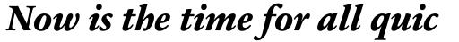Sabon Next LT ExtraBold Italic OsF sample