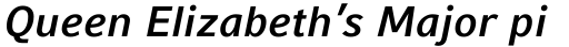 Compatil Fact Pro Bold Italic sample